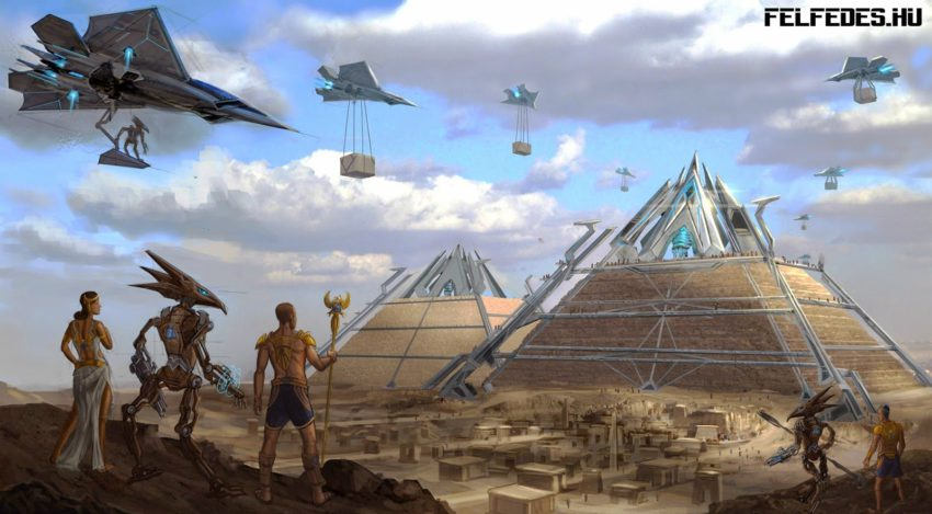 ALIEN-BUILDERS-SUPERVISING-EGYPTIAN-GIZA-PYRAMID-CONSTRUCTION-felfedes.hu